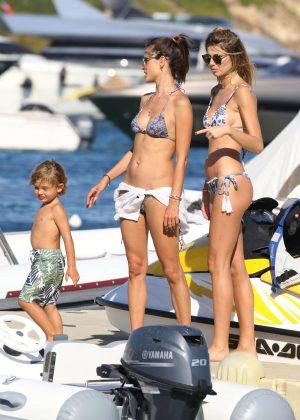 Alessandra Ambrosio in Bikini -08