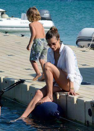 Alessandra Ambrosio in Bikini -29