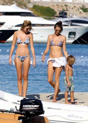 Alessandra Ambrosio in Bikini -37