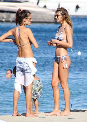 Alessandra Ambrosio in Bikini -45