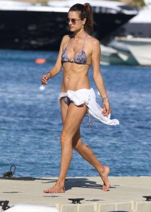 Alessandra Ambrosio in Bikini -58