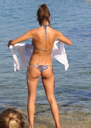 Alessandra Ambrosio in Bikini -59