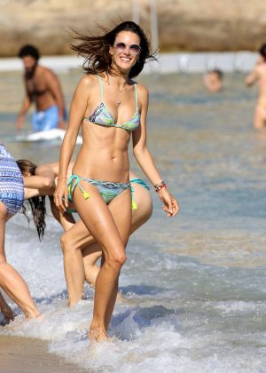 Alessandra Ambrosio in Bikini -03