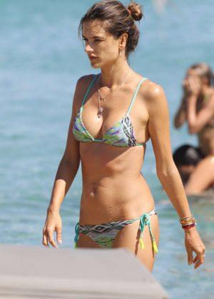 Alessandra Ambrosio in Bikini -12