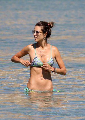 Alessandra Ambrosio in Bikini -15