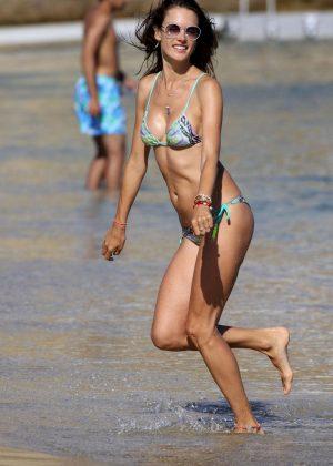 Alessandra Ambrosio in Bikini -25