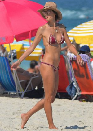 Alessandra Ambrosio in Bikini in Rio de Janeiro
