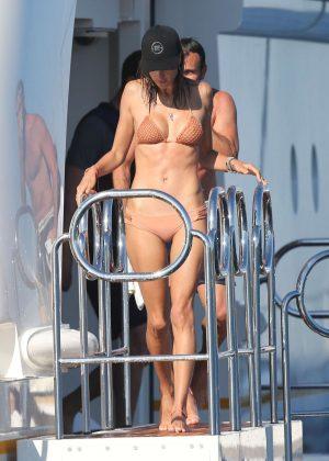 Alessandra Ambrosio in Bikini -35