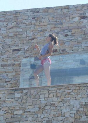 Alessandra Ambrosio in Bikini Top -24