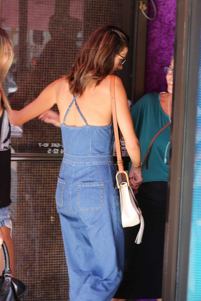 Alessandra Ambrosio in Jeans at Urth Caffe -18
