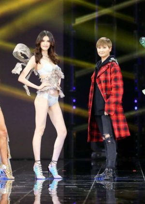 Alessandra Ambrosio, Josephine Skriver and Sui He - Tmall 11:11 Global Shopping Festival Gala in Shenzhen