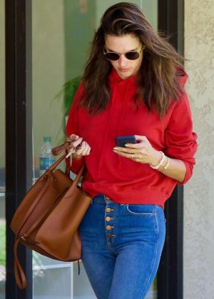 Alessandra Ambrosio - Leaves a skincare clinic in Los Angeles