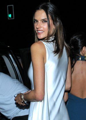 Alessandra Ambrosio - Leaves the Fansano Hotel in Rio de Janeiro