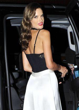 Alessandra Ambrosio Leaving a Pirelli event in Los Angeles