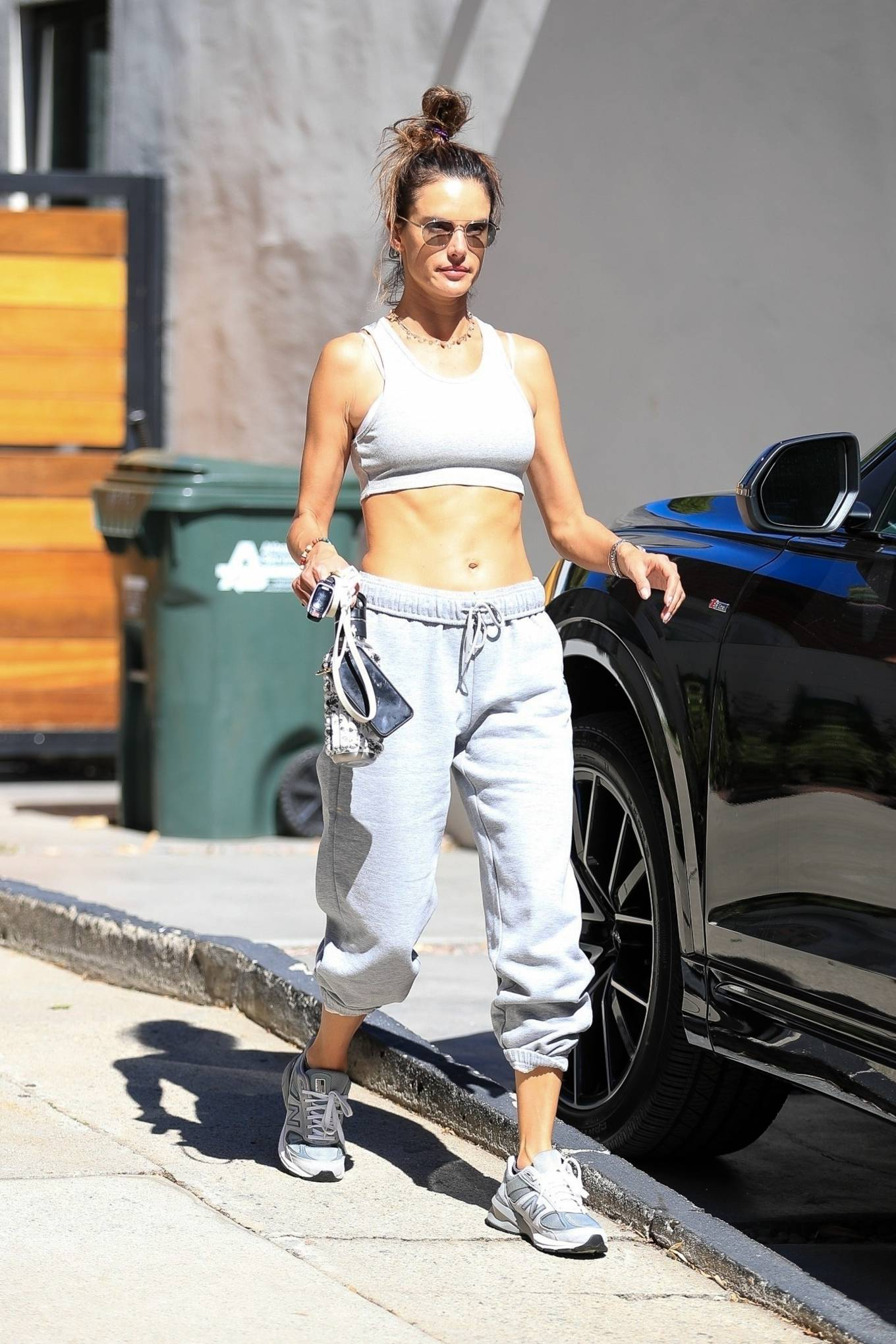 Alessandra Ambrosio - Leaving Pilates class in West Hollywood