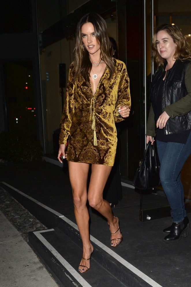 Alessandra Ambrosio: Leaving The DUNDAS Traveling Flagship Cocktail Party -02