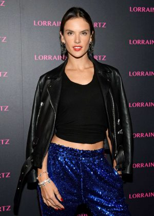 Alessandra Ambrosio - Lorraine Schwartz Eye Bangles Collection Launch in West Hollywood