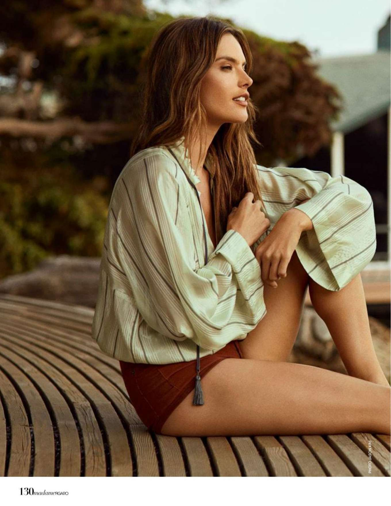 Alessandra Ambrosio - Madame Figaro Magazine (December 2019)