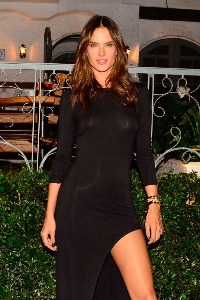 Alessandra Ambrosio - Matheus Massafera Birthday Bash in Sao Paulo