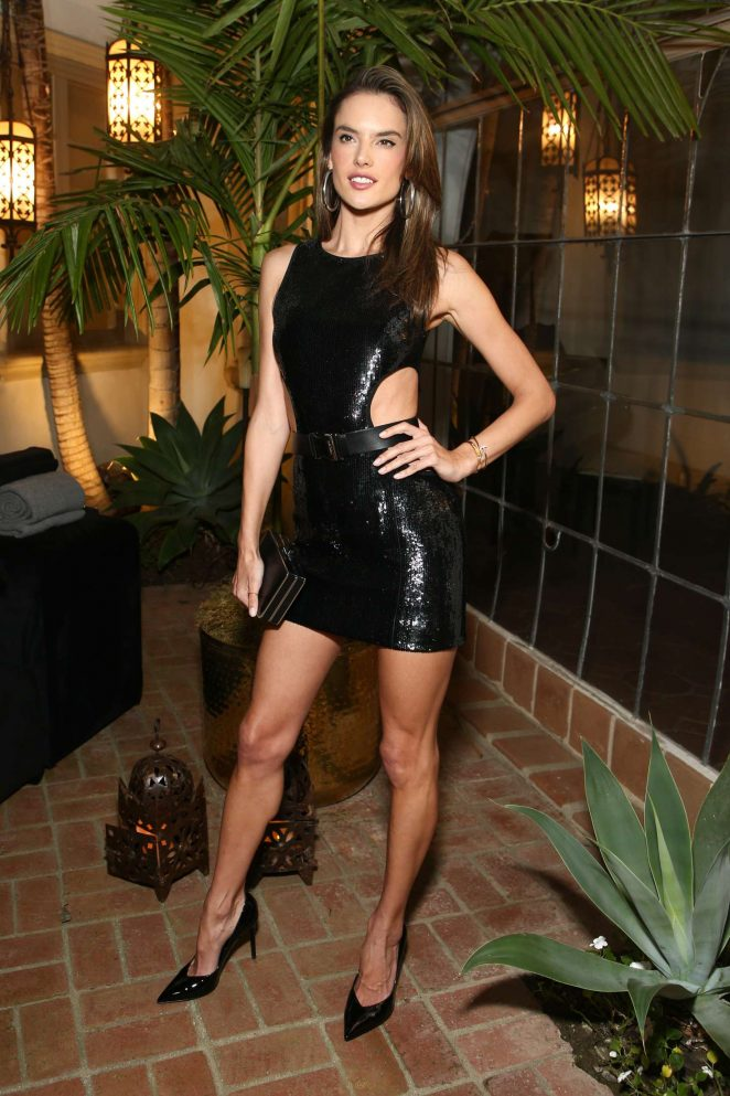 Alessandra Ambrosio - Michael Kors x Kate Hudson Dinner in Los Angeles