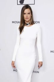 Alessandra Ambrosio - Mosaic Federation Gala Against Human Slavery in NYC