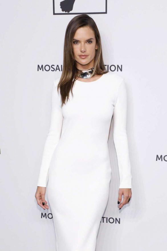Alessandra Ambrosio - Mosaic Federation Gala Against Human Slavery in NYC