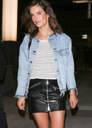 Alessandra Ambrosio - Moschino Spring/Summer 17 Resort Collection in Los Angeles
