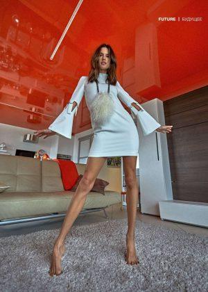 Alessandra Ambrosio - Numero Russia magazine