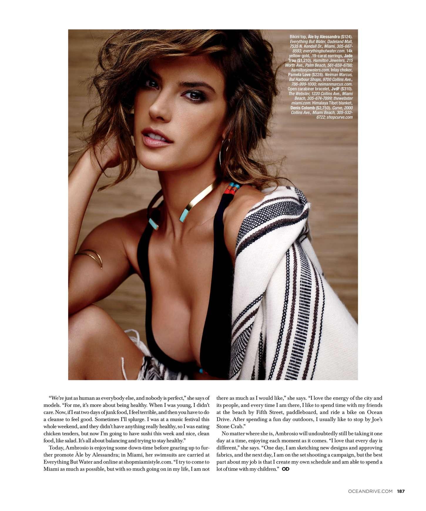 Alessandra Ambrosio 2015 : Alessandra Ambrosio: Ocean Drive 2015 -02