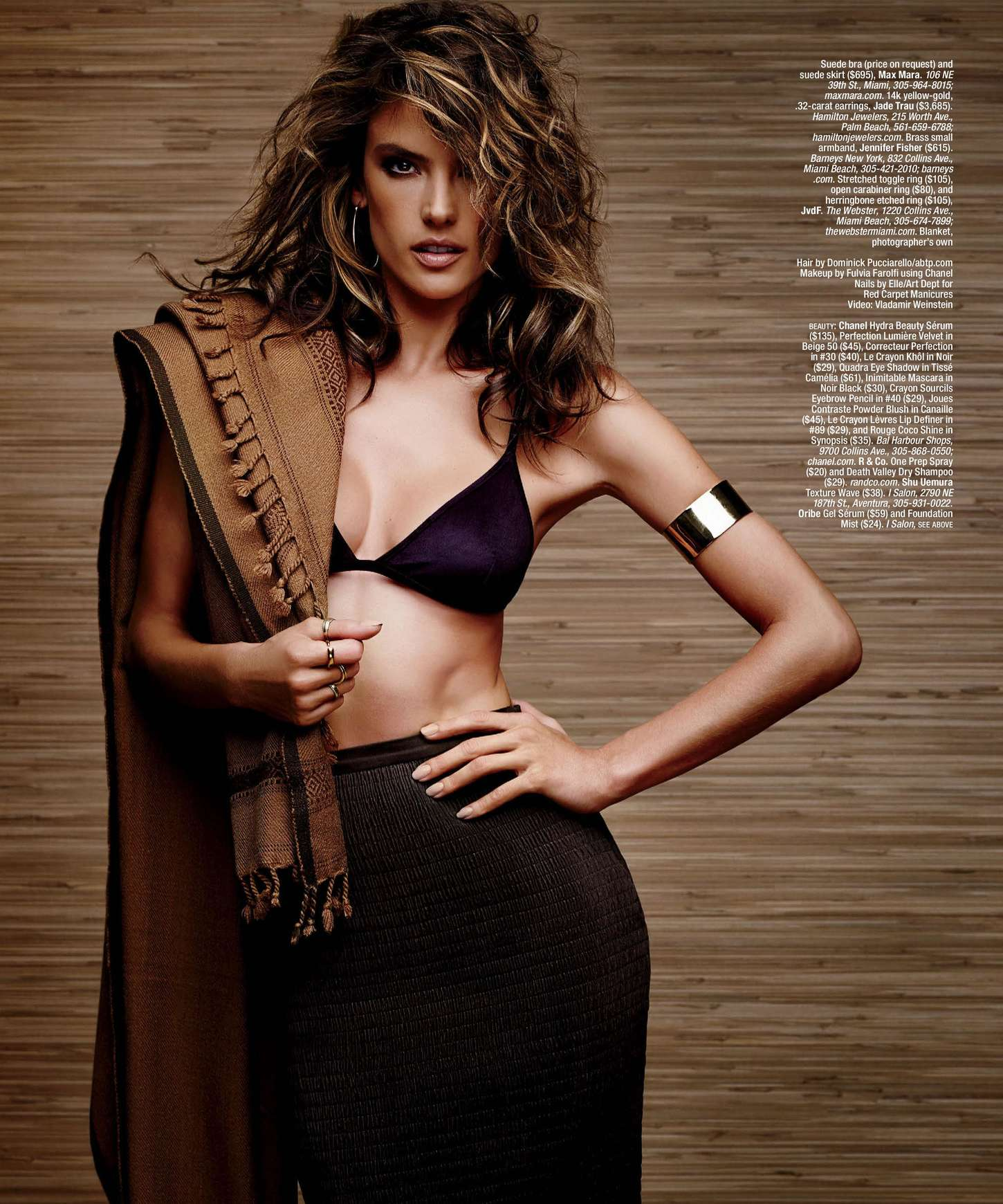 Alessandra Ambrosio - Ocean Drive Magazine (February 2015)