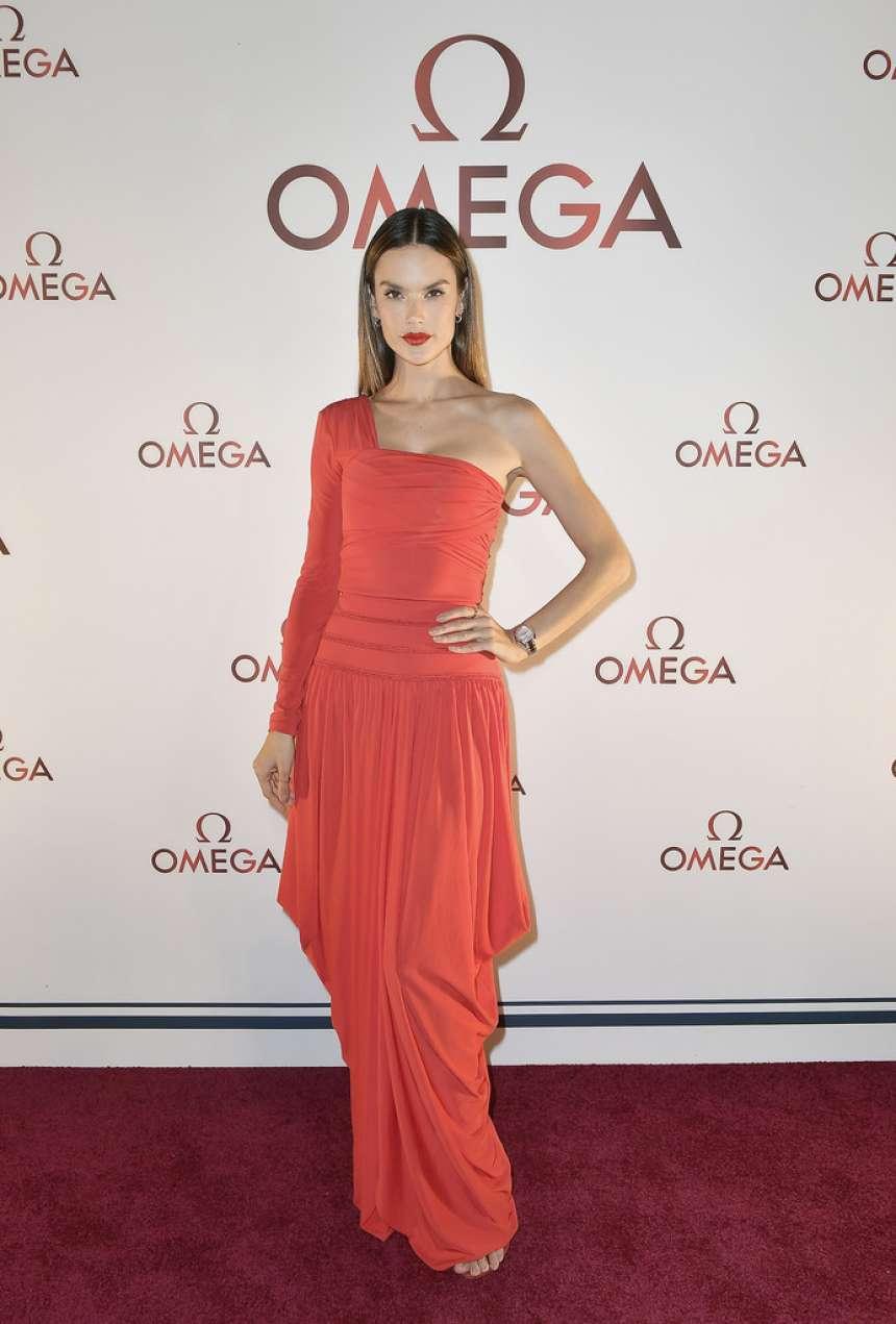 Alessandra Ambrosio - OMEGA Aqua Terra Collection Celebration in Miami