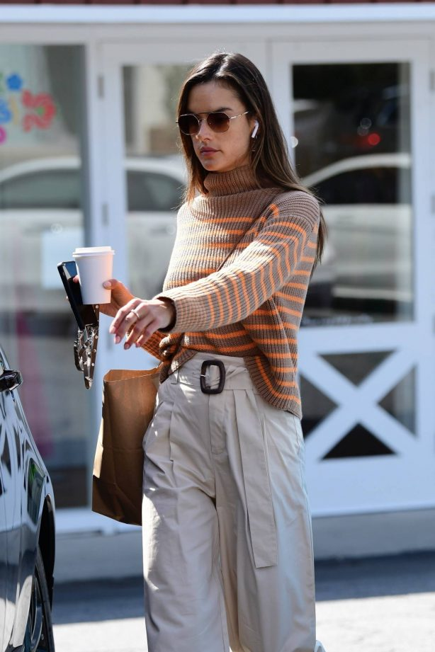 Alessandra Ambrosio - On a coffee run in Brentwood