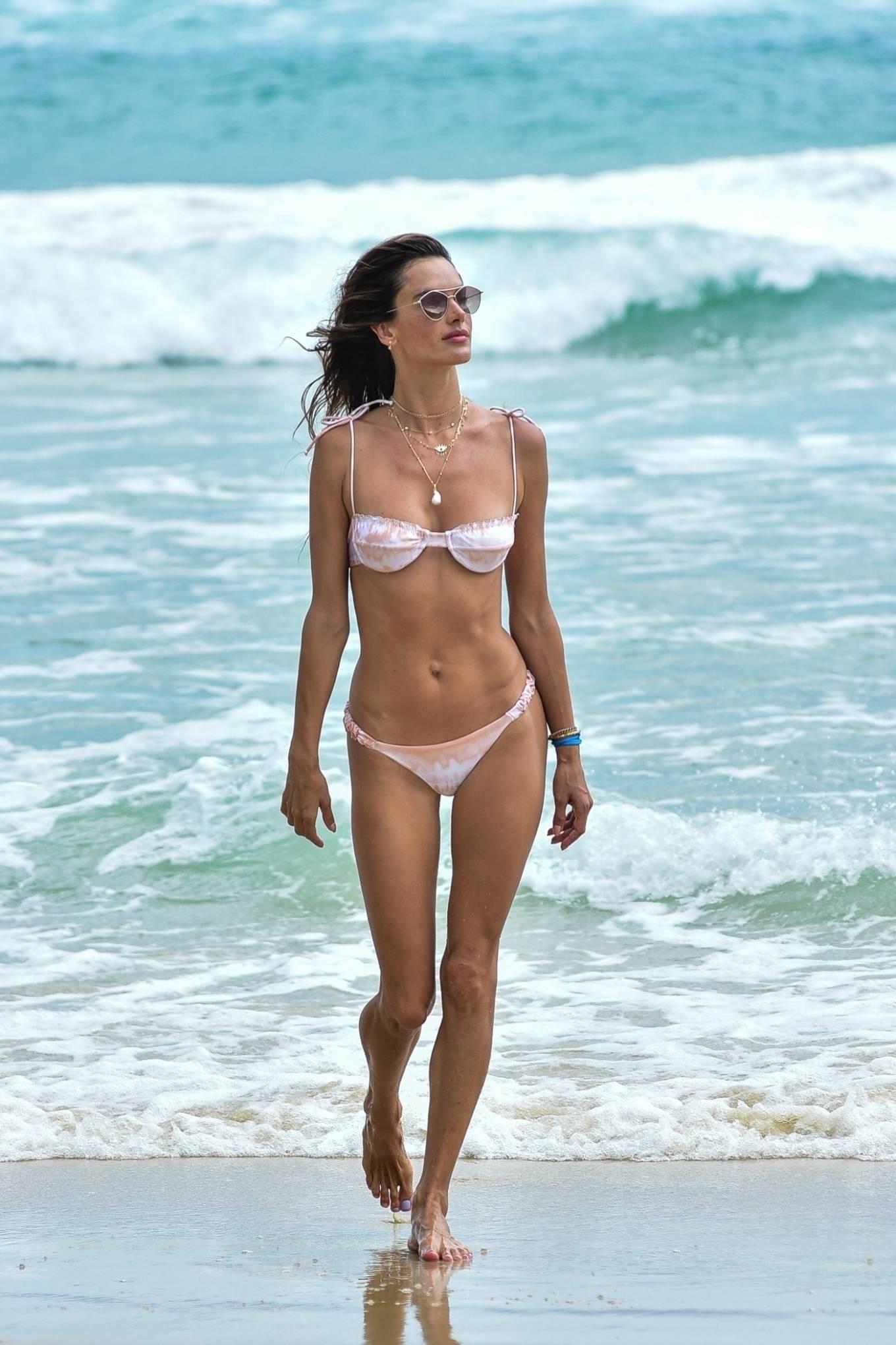 Alessandra Ambrosio 2020 : Alessandra Ambrosio – on the beach in Florianopolis-02