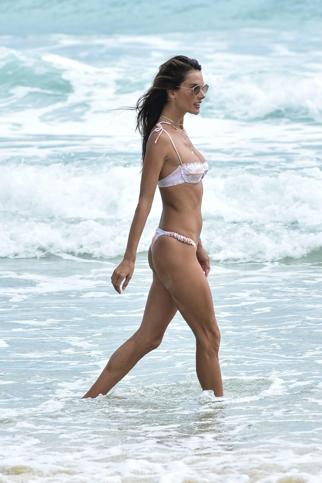 Alessandra Ambrosio 2020 : Alessandra Ambrosio – on the beach in Florianopolis-34