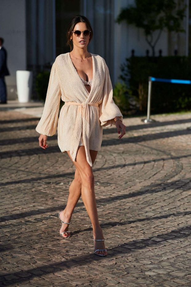 Alessandra Ambrosio - On the Croisette in Cannes