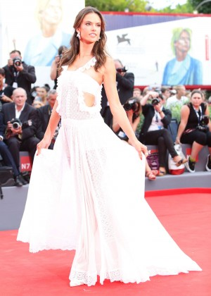 Alessandra Ambrosio - Opening Ceremony and Premiere of 'Everest' at 72nd Venice Film Festival