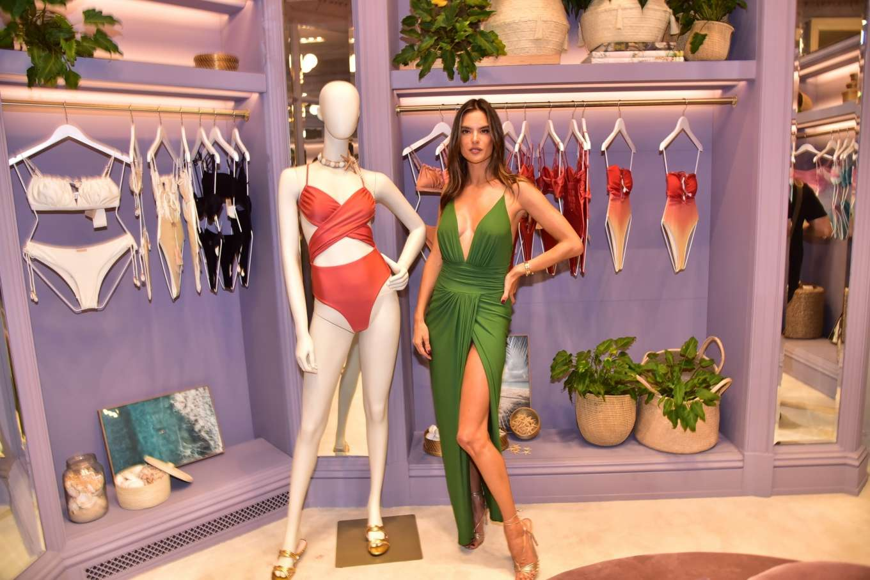 Alessandra Ambrosio 2019 : Alessandra Ambrosio – Opens up her first store for her bikini brand in Sao Paulo-01