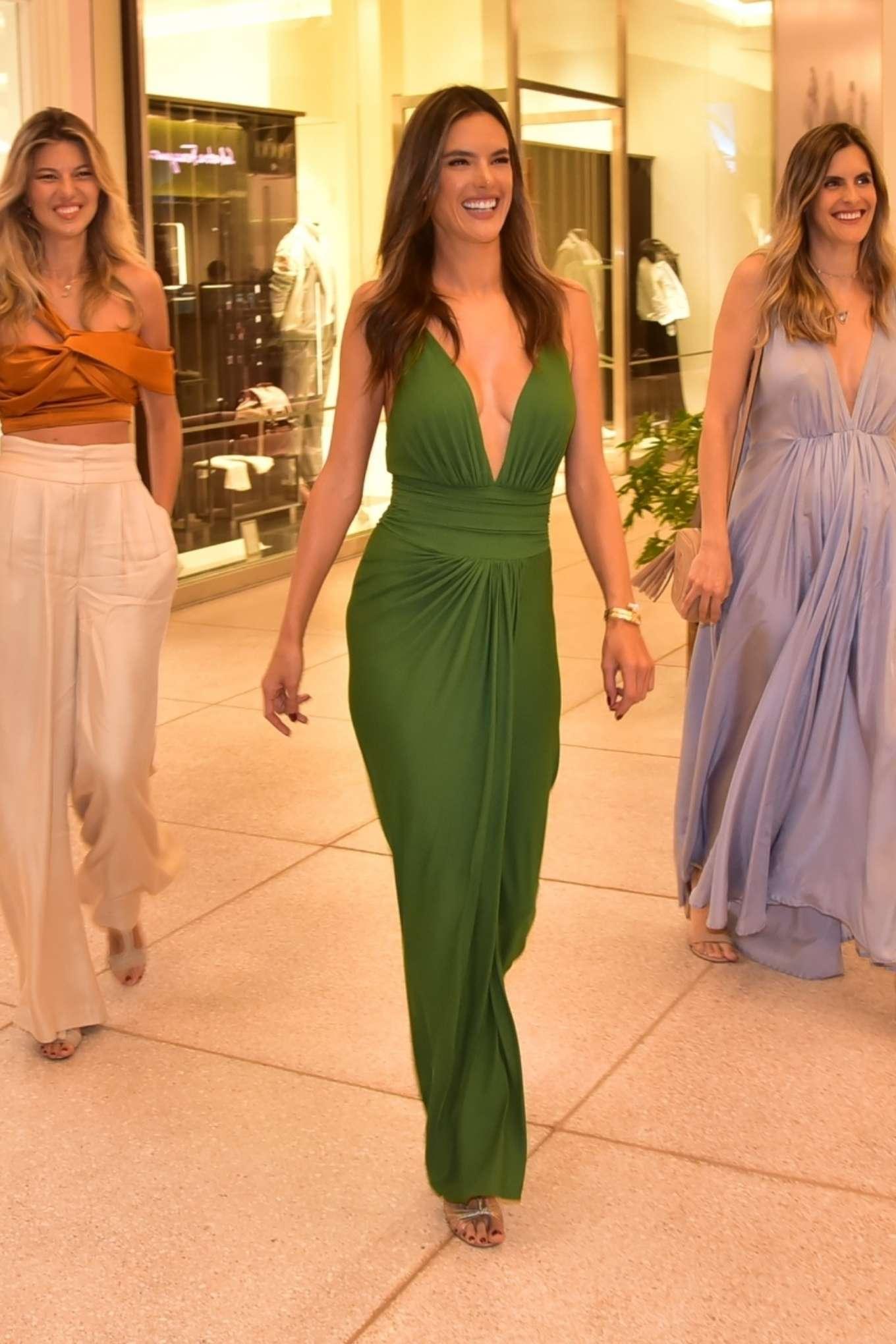 Alessandra Ambrosio 2019 : Alessandra Ambrosio – Opens up her first store for her bikini brand in Sao Paulo-06