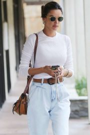 Alessandra Ambrosio - Out and about in Brentwood