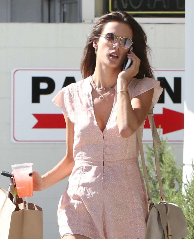 Alessandra Ambrosio - Out and about in LA