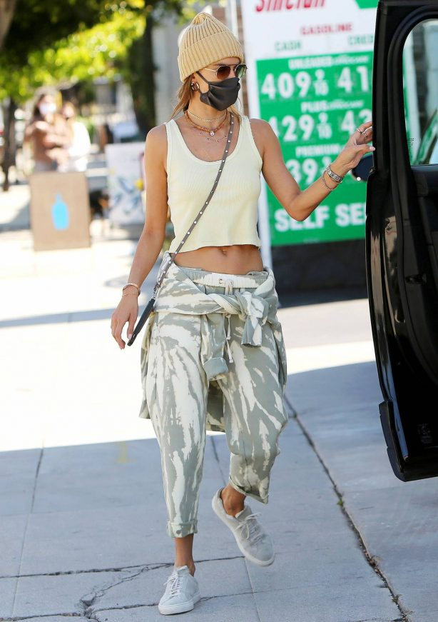 Alessandra Ambrosio - Out and about in Los Angeles