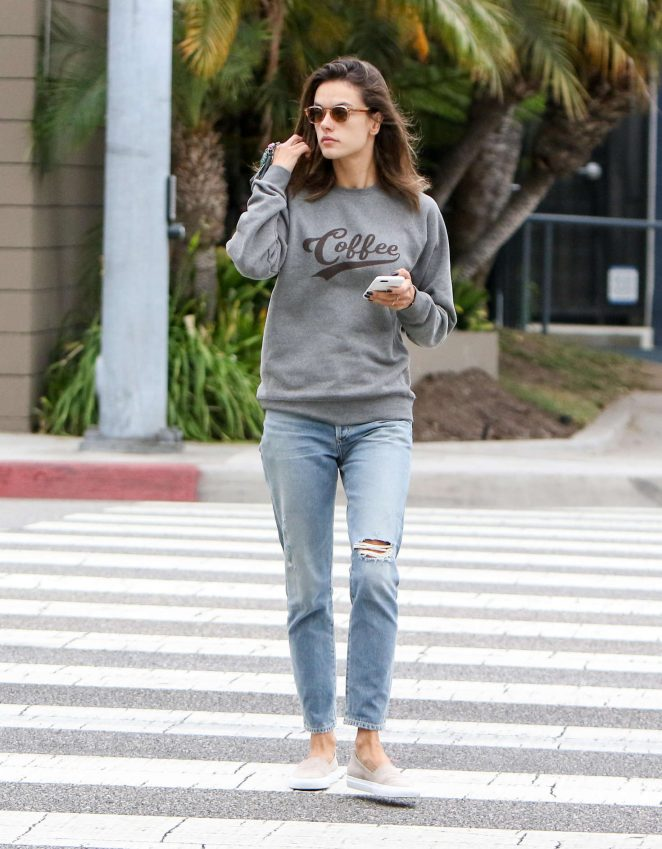 Alessandra Ambrosio – Out and About in Los Angeles