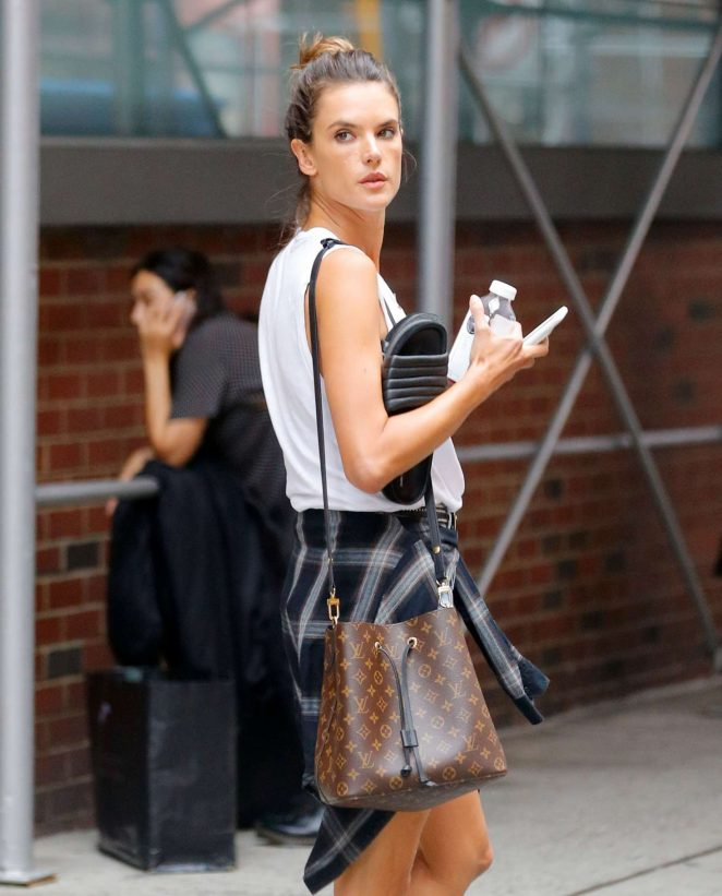 Alessandra Ambrosio - Out and about in New York