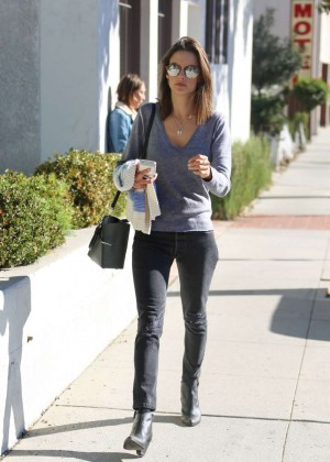 Alessandra Ambrosio Out and About in Santa Monica