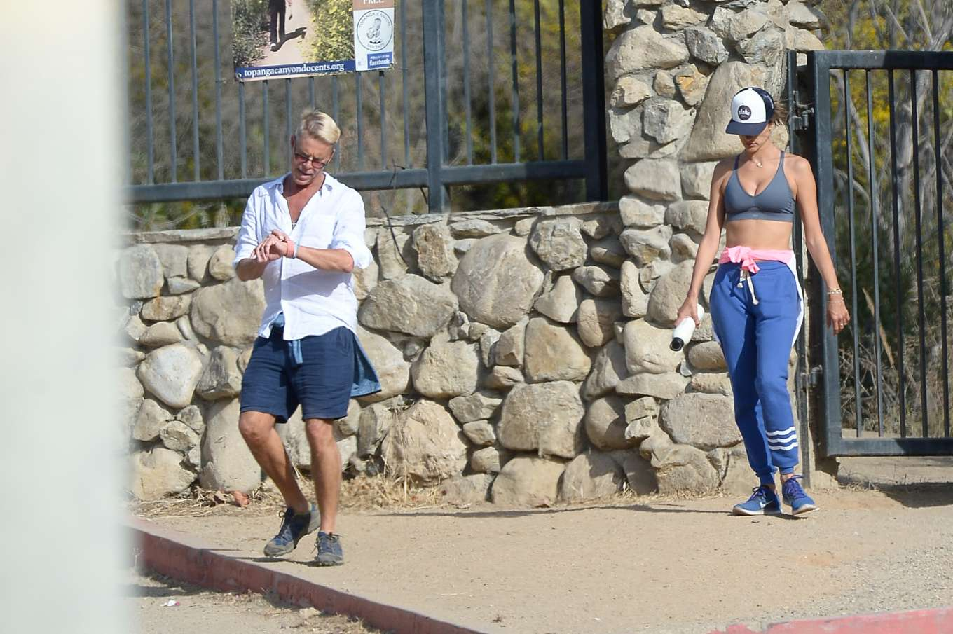 Alessandra Ambrosio 2019 : Alessandra Ambrosio – Out for a hike in Los Angeles-12