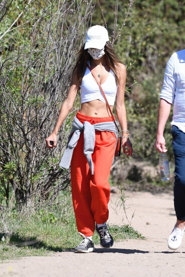 Alessandra Ambrosio - Out for a hike in Santa Monica