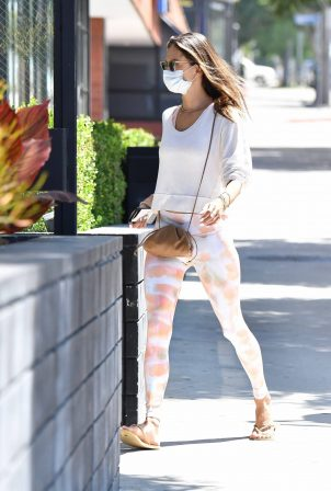 Alessandra Ambrosio - Out for her daily workout
