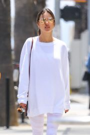 Alessandra Ambrosio - Out for lunch at Tocaya Restaurant in Brentwood
