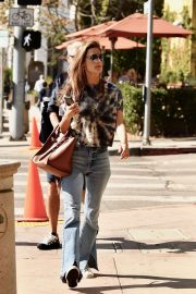 Alessandra Ambrosio - Out for lunch in Brentwood