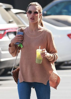 Alessandra Ambrosio - Out in Brentwood